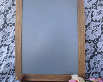 Chalkboard with Easel, Rustic Personalized  for Signs and Table Numbers or Photo Props -One large- Item 1380
