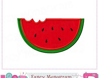 Watermelon applique,Watermelon embroidery,Summer,Summer applique,Summer design.-03
