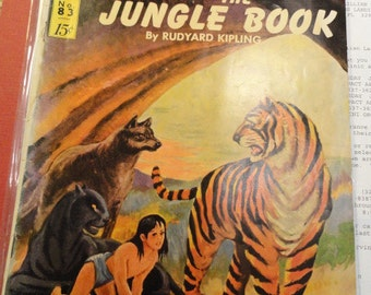 Jungle Book Comic Book May 1951 Number 83  Vintage Classics Illustrated