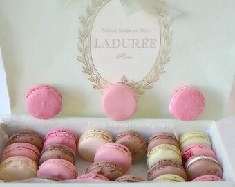 Paris Photography, Laduree Macarons, Paris Laduree Macarons, Paris Patisserie Bakery, Paris Laduree Macarons Prints, Paris Food Photography