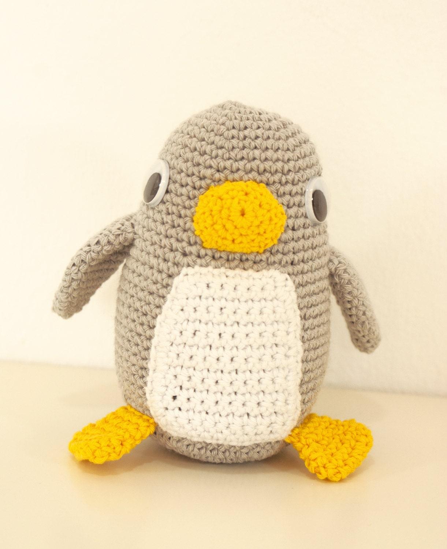 Fantástico Ganchillo Patrón Del Sombrero Del Pingüino Galería ...