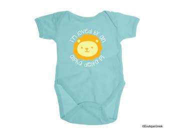 ADPi Alpha Delta Pi Loved By Gender Neutral Baby Outfit