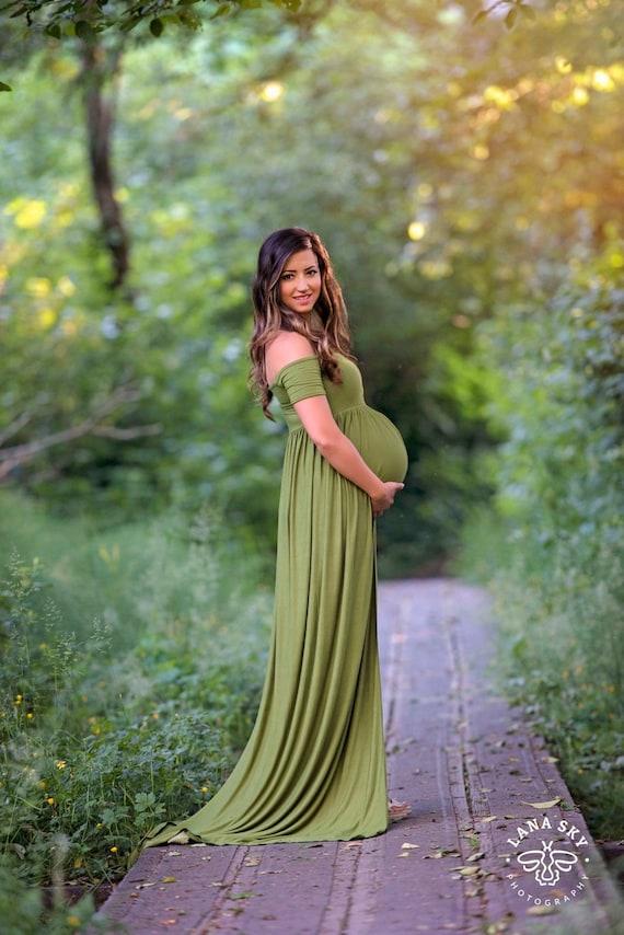 Chiffon Maternity Gowns