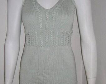 Summer dress knit dress