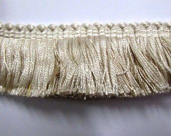 FRINGE in ivory cream 1 3/4 inch