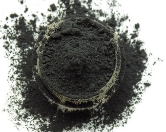 Mineral Eyeshadow Abyss, Dark Eyeshadow, Loose Eyeshadow, Natural Makeup, Matte Eyeshadow, Cruelty Free, Mineral Makeup, Natural Cosmetics