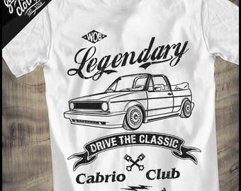 """Golf 1 Cabrio """"Legendary"""" T-Shirt"""