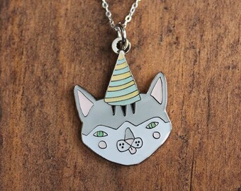 Party Cat Necklace
