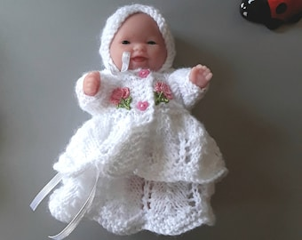 5 inch Berenguer Doll with Clothing & Shawl.