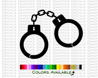 Handcuffs Decal