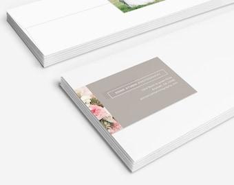 Photography Address Label Template - SOHO Studio - 1372