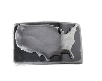 United States Belt Buckle/ USA Belt Buckle /Boyfriend Gift /Cool Mens Gifts/Gifts for Him/ Unique Mens Gifts/Mens Belt Buckles /Patriotic