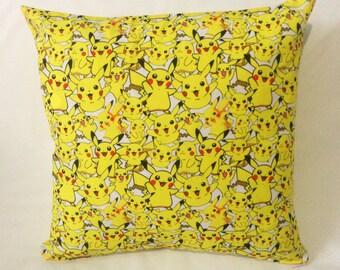 Pikachu Pokemon Cartoon Comic Cushion