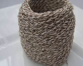 Bakers Twine - Caramel and White Bakers Twine or Your Choice - 10, 15, 25, 50 or 100 yards - 3 Ply Color Selections