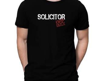 Solicitor Off Duty T-Shirt