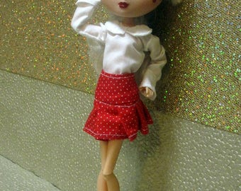Made To Order! La Dee Da Doll Clothes - You choose the colors and trims! - Skirt
