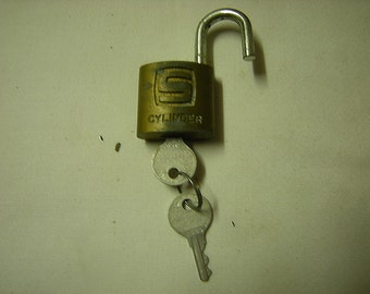 Lock Lock Usa rustic lock etsy