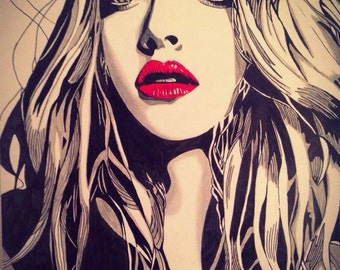 Amanda Seyfried (Original Artwork)