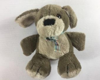"""Dakin Plush Dog 1984 Stuffed 10"""" Toy Cute Cuddly Puppy Ears Animal Lover 80s"""