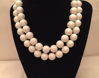 Two Strand Beaded Necklace