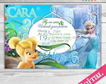 DIGITAL Dual or Custom party invitations