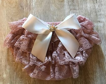Dusty Rose Diaper Cover