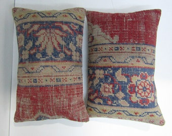 An amazing set of 2 rug pillow covers,16''x24''-40x60cm,homedecor rug pillow case,sofadecor pillow cover,cushion cover H 18