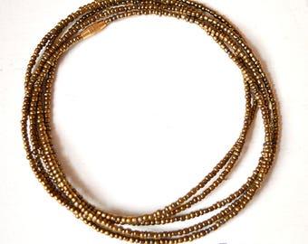 Brass - Waist Beads - Belly Chain - Belly Beads - African Waist Beads - African jewelry