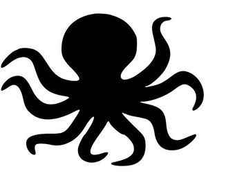 Octopus Vinyl Decal Sticker