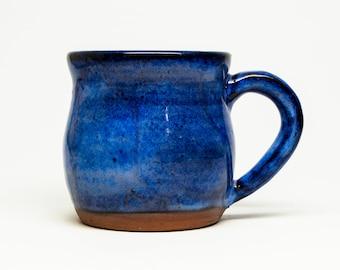 Pottery Mug - custom ceramic hand thrown mug - wheel thrown pottery mug - stoneware mug - handmade mug - tea mug - cocoa mug - gift mug