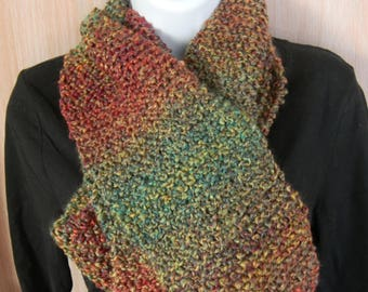 Traditional Knitted Scarves-Fiesta