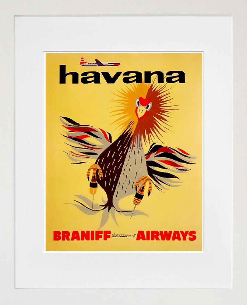 Havana Cuba Retro Poster Travel Art Home Decor Print zt638