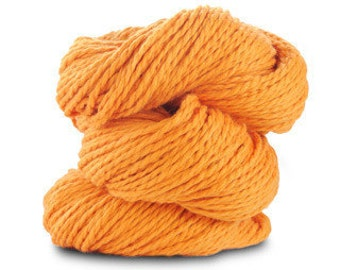 Organic Cotton Yarn Worsted, 150 Yards, Poppy