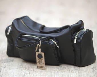 Leather Travel Bag,Leather Duffel Bag,Weekender bag,Duffel Bag,Leather overnight bag,Cabin Travel Bag,Gym Bag, Handmade. Men bag leather