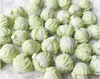 5/10Pcs. Miniature Cabbage,Miniature Vegetable,Dollhouse Vegetablet,Dollhouse Cabbage,Miniature Fairy Garden,Green Cabbage