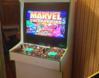 Marvel Super Heroes Arcade Cabinet Machine 645 Games