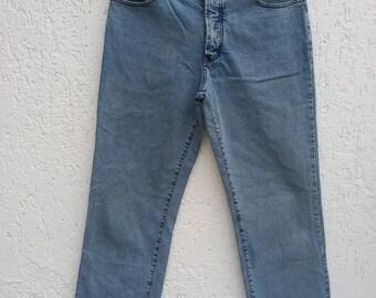 Vintage Man's Pierre Cardin High Waist Jeans Size Large