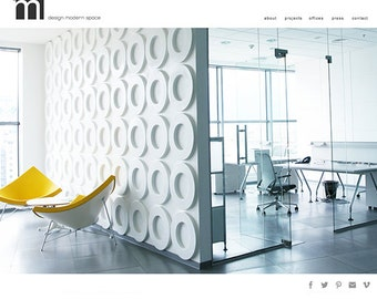 wordpress website web design for designer artist portfolio boutique custom web design premade website design wordpress website design
