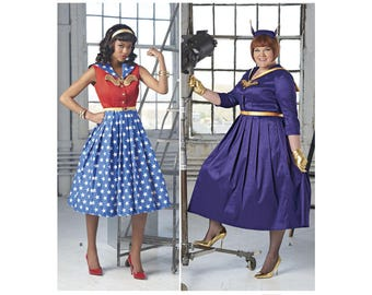 Simplicity Sewing Pattern 8481 Misses' and Women's Rockabilly Dresses