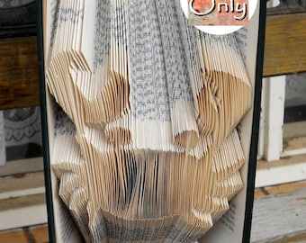 Crab Folded Book Art Pattern