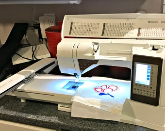 Used Viking Husqvarna Topaz 50 Embroidery/Sewing Machine