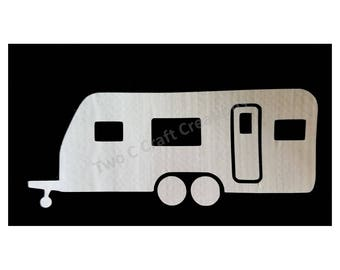 Travel Trailer RV towable decal