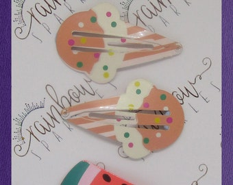 Summer time treats snap clips