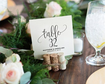 Table Numbers Printable, Wedding Table Numbers, Table Number Template, Wedding Printable, Wedding Ideas, PDF Instant Download #BP203_7