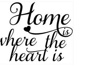 Home is where the heart is digital file