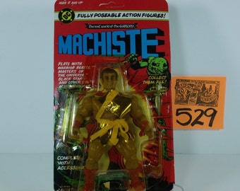 1982 Lost World of the Warlord Machiste figure Mint on Card