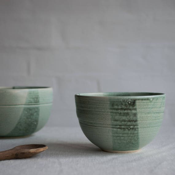 Small Serving Bowl in Mint Green
