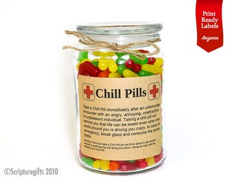 Funniest Personalized Chill Pills for Anyone