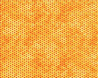 Northcott - Full Bloom - Dots on Yellow - Fabric by the Yard 21808-52