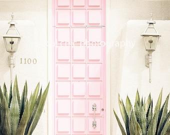 That Pink Door, Palm Springs, California, Instagram, door, pink, pink door, architecture, desert, luxury, vintage